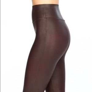 Faux Leather Spanx Leggings